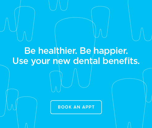 Be Heathier, Be Happier. Use your new dental benefits. - Coral Springs Modern Dentistry